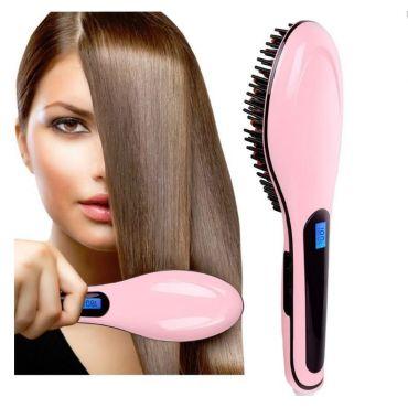 FAST HAIR Ionizační hřeben na vlasy s LCD