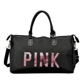 Cestovní taška Travel PINK Černá