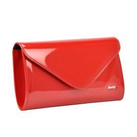 Rovicky elegantní lakovaná kabelka EXTRA Červená