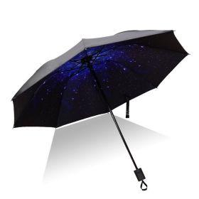 Dámský skládací deštník Noční obloha