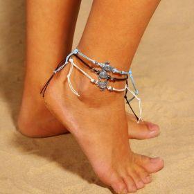 Dámský Set Boho náramků na nohu Želvičky