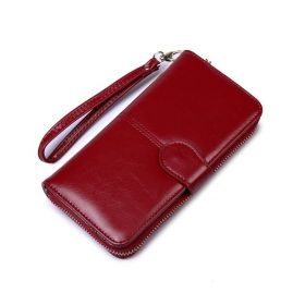 Peněženka s poutkem na mobil Červená