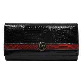 Cavaldi kožená peněženka Alice Černá