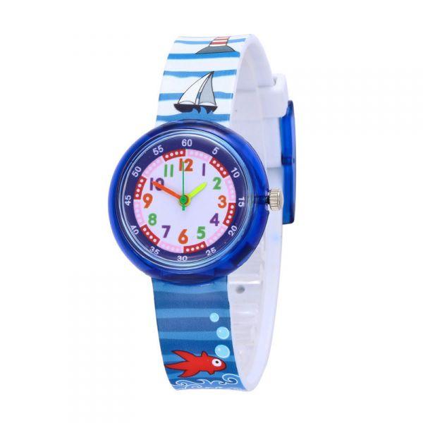 Chlapecké silikonové hodinky Námořník