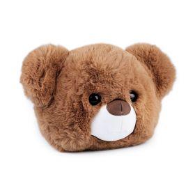 Kožešinová dětská kabelka Hnědý medvídek