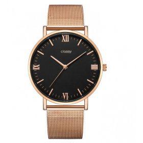 Classy dámské hodinky Rose gold Elegán