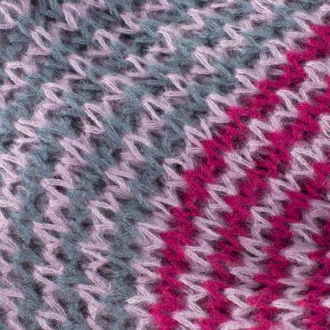 ArtOfPolo kruhový tunelový pletený šál Šedý