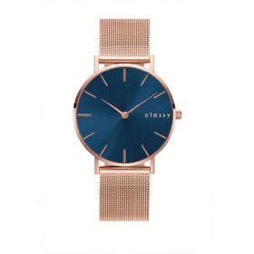 Classy dámské hodinky Rose Blue line