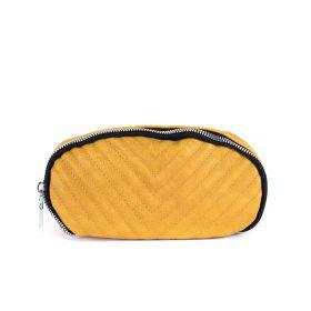 Koženková ledvinka Trendy stuff Žlutá