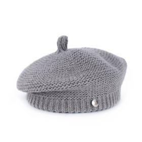 Dámský baret Premium šedý