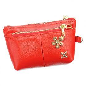 Milano Design dámská peněženka Flower Červená