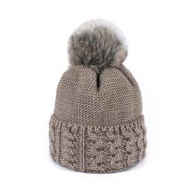 ArtOfPolo dámská zimní čepice HORS Béžová