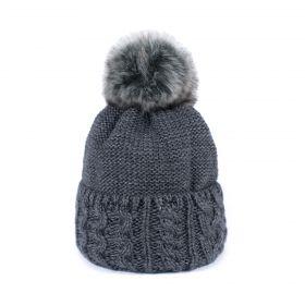 ArtOfPolo dámská zimní čepice HORS Tmavě šedá