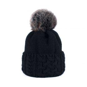 ArtOfPolo dámská zimní čepice HORS Černá