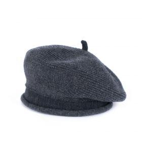 Dámský baret Candela Tmavě šedá