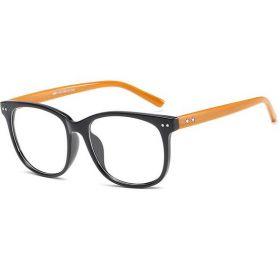 Brýle s čirými skly bez dioptrii Stars Wood