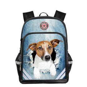 Dětský školní batoh Jack russell terrier