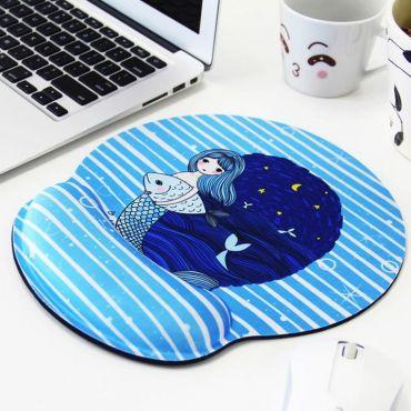 Huado ergonomická podložka pod myš Mořská panna