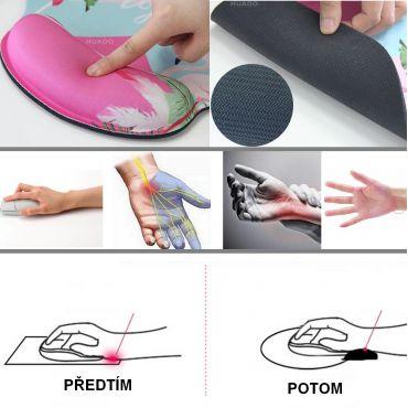 Huado ergonomická podložka pod myš Meow