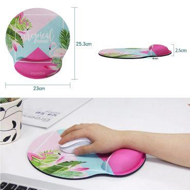 Huado ergonomická podložka pod myš Tropical Summer