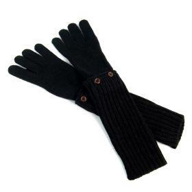 ArtOfPolo dlouhé rukavice Dublin Černé