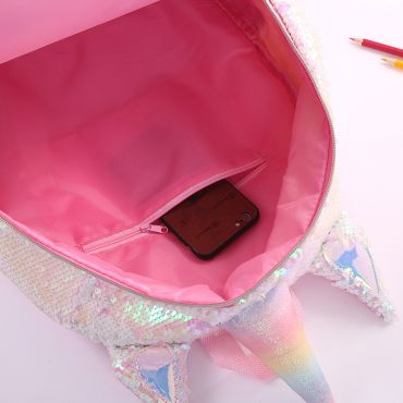 Who Cares flitrový batoh jednorožec Winkie Trick