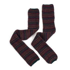 Dlouhé vlněné rukavice bez prstů Multikolor