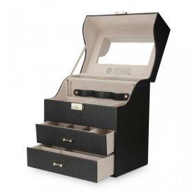 Stenberg elegantní kufřík na šperky Daemon Černý