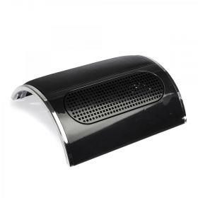 Odsávačka prachu na nehty 45W se 3 ventilátory Černá