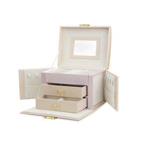 Elen kufřík na šperky šperkovnice Růžová