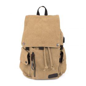 Multifunkční bavlněný batoh Adventure Girl Hnědý