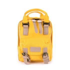 Artofpolo mini batůžek Little žlutý
