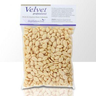 Velvet tvrdý depilační vosk Bílá čokoláda 100g