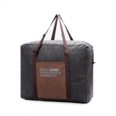 TRAVEL skládací cestovní taška Černá