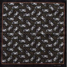 Bavlněný šátek Veselý kostlivci