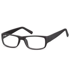 Obdelníkové brýle bez dioptrii Dispenser - černé