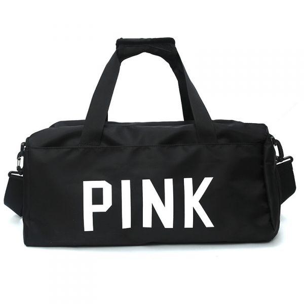 Sportovní taška Love Pink Černá
