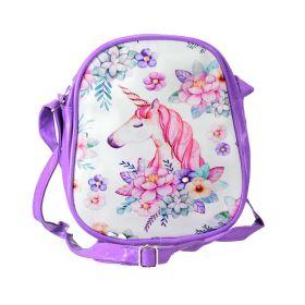 Dětská kabelka s Jednorožcem Fialová