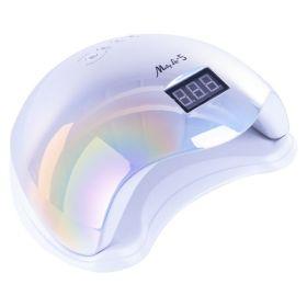 MOLLY LAC 5 UV led lampa na nehty 48W Holografická