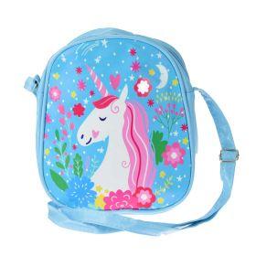 Dětská kabelka s Jednorožcem Modrá