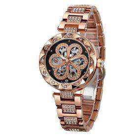 FORSINING dámské hodinky Bloom Crystals FSL8M4G3