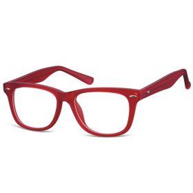 Dětské brýle bez dioptrii Wayfarer - červené