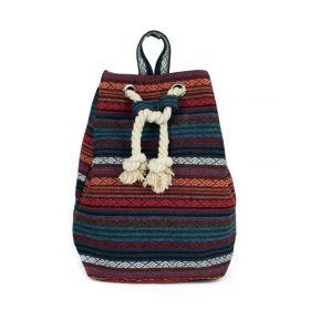 ArtOfPolo stahovací batoh Peruvian Modrý