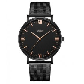 Classy dámské hodinky Black Elegán