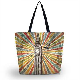 Huado nákupní a plážová taška - Big Ben London