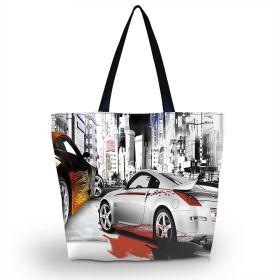 Huado nákupní a plážová taška - Dream Cars