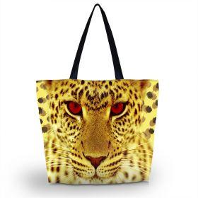 Huado nákupní a plážová taška - Leopardí kukuč