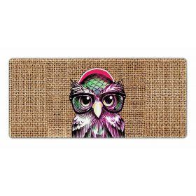 XXL podložka pod myš HUADO Canvas Happy Owl