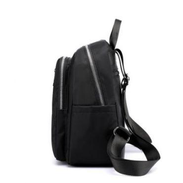 Dámský polyesterový batůžek Crossing - Černý