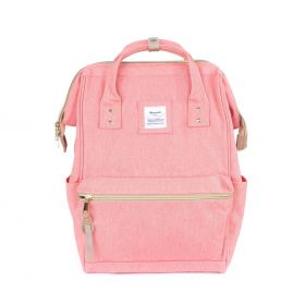 Himawari městský batoh s USB NR7 Růžový